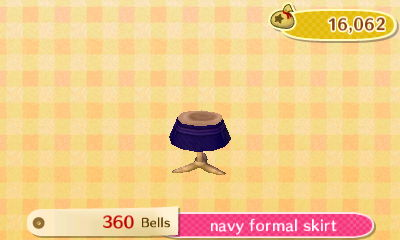 Navy Formal Skirt | New Leaf HQ