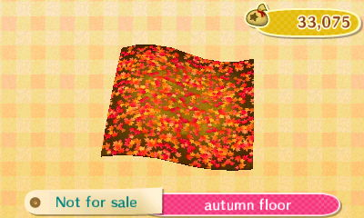 Autumn Floor  New Leaf HQ