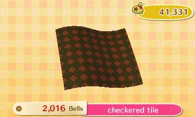 Checkered Tile New Leaf Hq