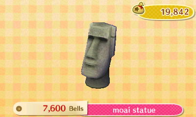 Moai Statue New Leaf Hq