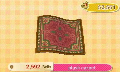Plush Carpet New Leaf Hq