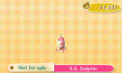 animal crossing dolphin